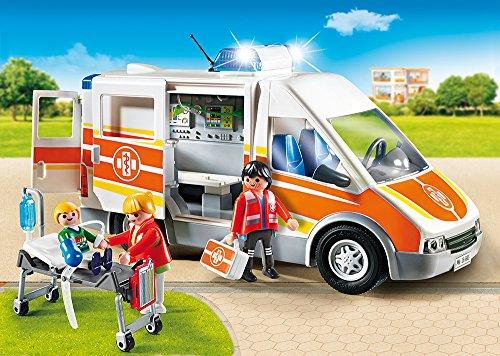 PLAYMOBIL 6685 – Krankenwagen mit Licht und Sound - 2