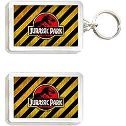 Sconosciuto Llavero y Imán Jurassic Park 2