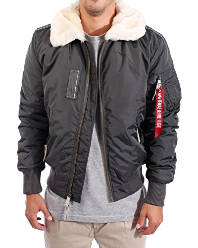 Alpha-Industries-Herren-Jacke-Jacke-Injector-III-Grau-Greyblack-136-Medium