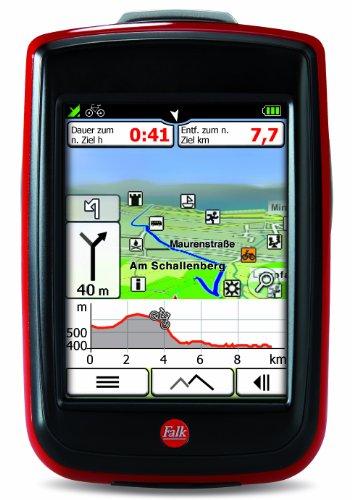 Falk Ibex 32 DEU 2014 - Navegador GPS (Flash, Batería, Ión de litio, SDHC, Alemania, Vertical)