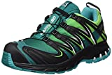 Salomon XA PRO 3D GTX Herren Traillaufschuhe, Grün (Fern Green/Light Grey -/Black), 46