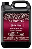 Dirtbusters Car Candy Snow Foam Auto-Shampoo, Reiniguer mit Hochglanzwachs, Kirschduft, professionelle Reinigung und Fahrzeugaufbereitng, Schneeschaum,Schnee schaum 5 l