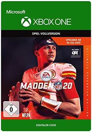 Madden NFL 20– Ultimate Superstar Edition   Xbox One - Download Code