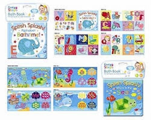 Libro per bambini, rivestito in plastica per vasca da bagno, giocattoli educativi e divertenti per...