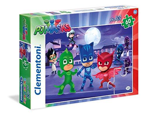 Clementoni 26423 - Puzzle 60 Maxi Pj Masks