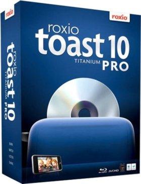 Roxio Toast Titanium Pro - (version 10 ) - ensemble complet - 1 utilisateur - Mac - allemand, français