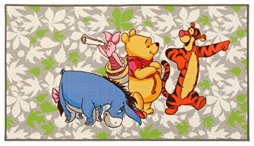 Disney Action Line Winnie & Friends Tappeto, Materiale Sintetico, Multicolore, 80.0x140.0x1.12 cm