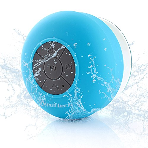 Neuftech Bluetooth Cassa Altoparlante Impermeabile da Doccia - Wireless Speaker Waterproof Con...