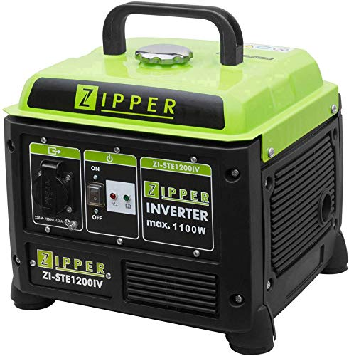 Zipper ZI-STE1200IV Inverter - Generador de corriente (505 x 280 x 420 mm)