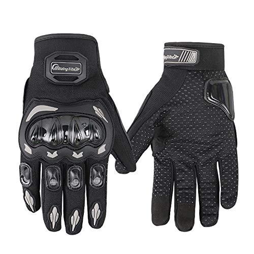 ARTOP Motorradhandschuhe Sommer Touch Screen Herren Damen Vollfinger Motorrad Motorcross Handschuhe Männer 1