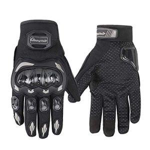 ARTOP Motorradhandschuhe Sommer Touch Screen Herren Damen Vollfinger Motorrad Motorcross Handschuhe Männer 3