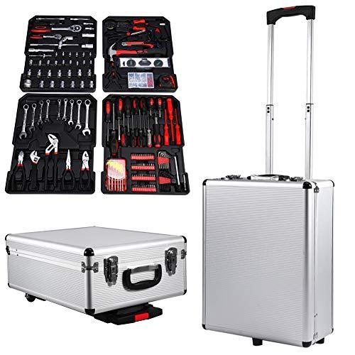 Valigia degli attrezzi, Kit di 399 Pezzi trolley degli attrezzi Strumenti Per Il Fai Da Te, con...