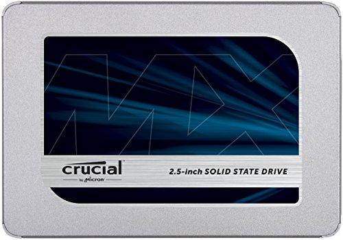 Crucial MX500 CT2000MX500SSD1(Z) SSD Interno, 2 TB, 3D NAND, SATA, 2.5 Pollici