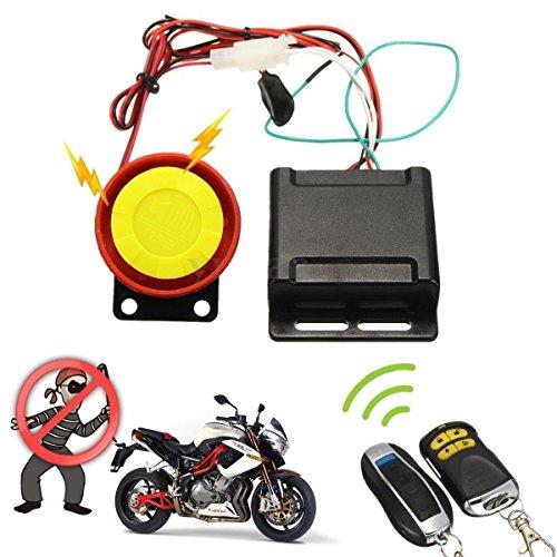 Ducomi - Defender 2.0- Kit antirrobo de seguridad para Moto con doble mando a distancia - Sistema de alarma universal: vigila y protege sus vehículos