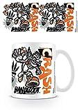 Crash Bandicoot MG25154 ((Stencil) Coffee Mug, Multicolore