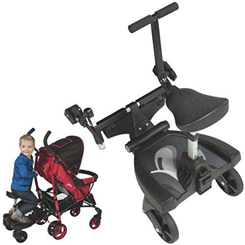 BuggyBoard Pedana per Passeggino + Seggiolino per passeggino Buggy Jogger a 20 Kg