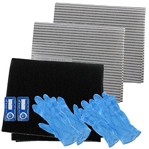 Spares2go cappa Grease Filter Carbon kit completo per Galvamet completo da cucina aspiratore Vent