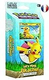Deck à Theme de 60 Cartes : Let's Play Pikachu - Version Francaise