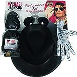Rubie's-déguisement officiel - Rubie's- Kit de Mickael Jackson perruque - Taille Unique- I-5340