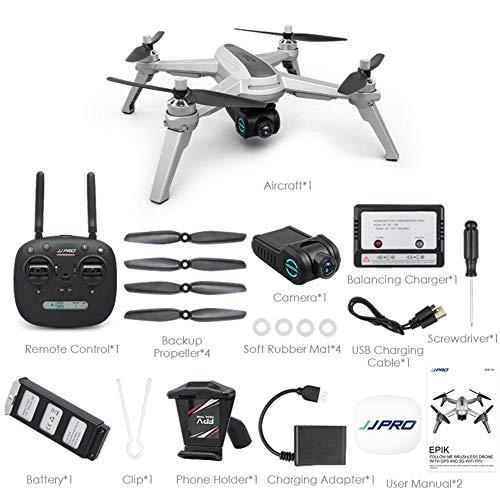 iBellete JJRC JJPRO X5 GPS Wi-Fi Drone con fotocamera HD 1080P, ottimo drone per principianti,...