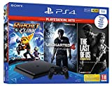 PS4 1TB + Ratchet&C+TLoU+Uncharted4 Hits