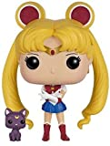 Funko Moon-Sailor Moon & Luna Figurina, Multicolore, 6350