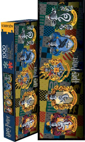 Aquarius Puzzle da 1000 pz, Motivo: Stemmi delle Case di Harry Potter