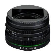 Pentax 18-50 F/4-5.6 HD DC WR RE - Objetivo para cámara (18-50 mm) Color Negro