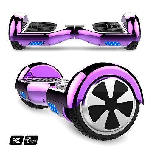 Hoverboard con ruote 6.5 pollici, inlude kart, Balance Board SUV Off-Road, 700W con app, Bluetooth e...