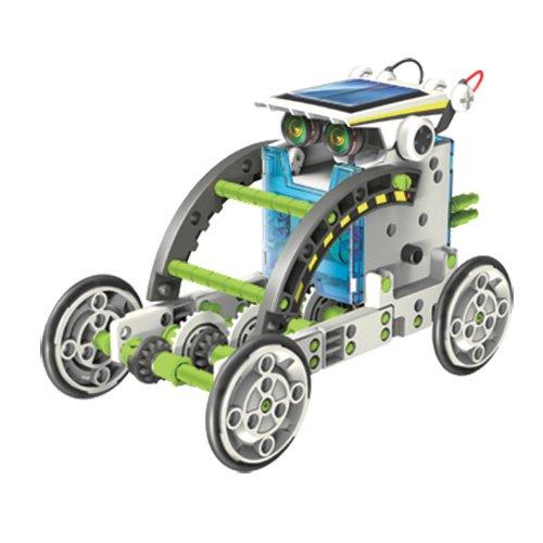 51LCGRfbXQL - itsImagical 14X1 Eco-Robot - Kit para construir robots solares, unisex