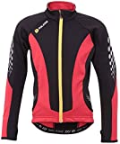 Polaris Fang LS Youth Jersey - Red, Small / Cycling Cycle Bicycle Biking Bike MTB Mountain Road Street Riding Ride Clothing Clothes Jacket Gear Kit Wear Top Torso T Tee Shirt Upper Body Children Child Boy Girl Kid Junior Long Sleeve Thermal Warm