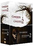 Coffret horreur 4 films : annabelle 1 et 2 ; conjuring 1 et 2