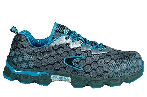 Cofra JE012-000.w42taglia 42s1p src'Lowball sicurezza scarpe, colore: grigio/blu