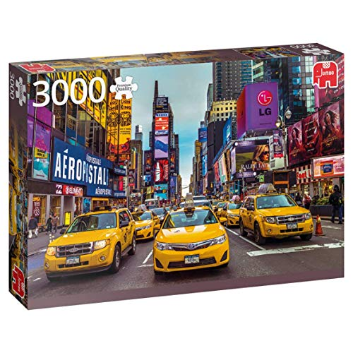 Premium Collection 18832 New York Taxi puzzle da 3000 pezzi, multicolore