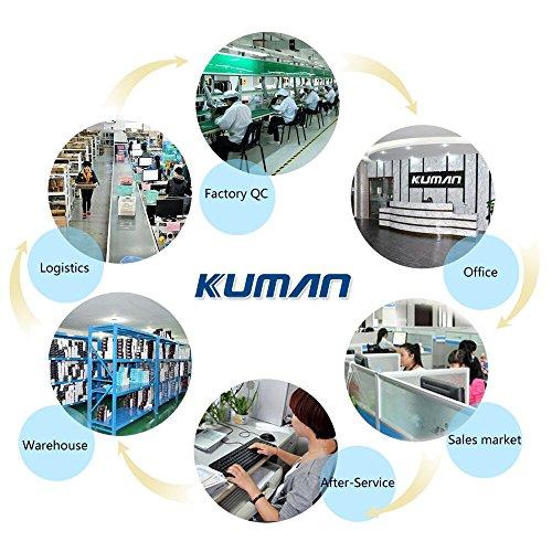 51LNCNQqmYL - Kuman Robot Multifuncional de Control Remoto para Niños 2,4 GHz, Mini Robot Electrónico, 5 Modos de Funcionamiento, Baile, Boxeo, Conducir, Cargar, Detección de Gestos, Súper divertido Robot RC 1016A