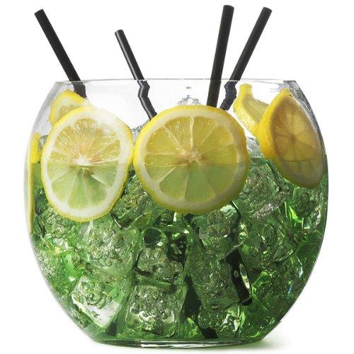 bar@drinkstuff - Boccia dei pesci per cocktail, di vetro, 2,6 litri / 16,5 cm