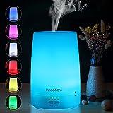 Diffusore di Aromi 150ml InnooCare Diffusore di Oli Essenziali Vaporizzatore - Umidificatore LED a 7 Colori con Timer Nebbia Fredda per Yoga, Spa, Ufficio, Casa, Stanza per Bambini