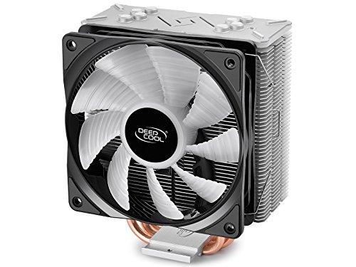Deepcool DP-MCH4-GMX-RGB-GT Gammaxx Gt Dissipatore per Cpu Amd Intel Ventola Pwm 120X25Mm e...