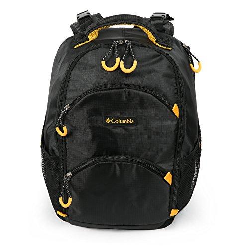 Columbia Pine Oaks Backpack Diaper Bag, Black