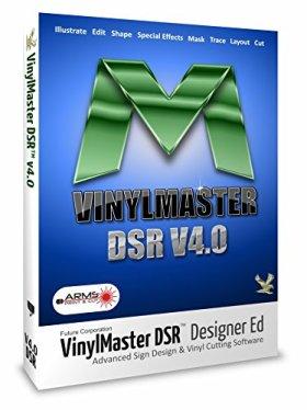 VinylMaster DSR Logiciel de conception graphique avancé pour les enseignes d'enseignes et d'affiches