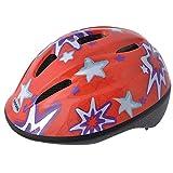 Oxford Little Explorer Red Stars Bike Helmet Size 46 53 Centimeter
