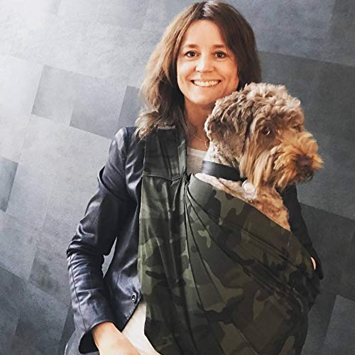 4Lazylegs Hundetragebeutel - Pocket Canvas - Camouflage