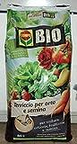 Compo Terreau Bio pour potager et semis 80 l