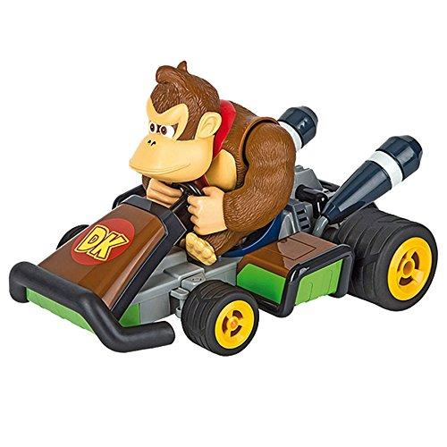 Carrera RC - Coche con radio control Mario Kart 7, Donkey Kong, escala 1:16 (370162063)