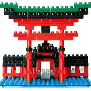 Desconocido Juego de construcción Big Torii of Itsukushima Shrine 55piezas