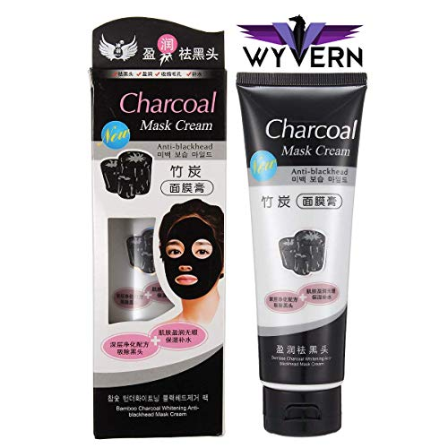 WYVERN Charcoal Oil Control Anti-Acne Deep Cleansing Blackhead Remover, Peel Off Mask for man & Woman