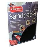 20 hojas de varios Premium para superficies secas y húmedas de papel de lija