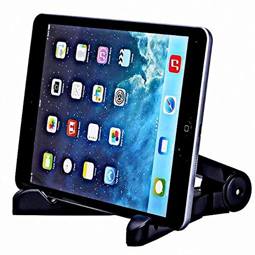 Generic Multi-Angle Portable & Universal Stand 7-10 inch Black Cradle For Tablets 7