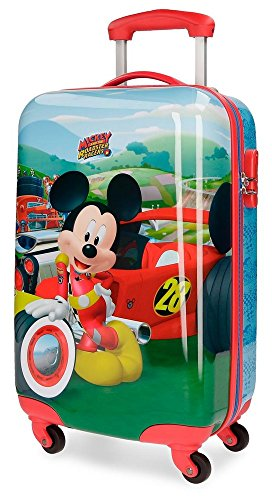 Roadster Racers Valigia per bambini, 55 cm, 33 liters, Multicolore (Multicolor)