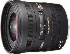 Sigma 6030806 - Objetivo para Canon (distancia focal fija 4mm, ojo de pez, diámetro: 102 mm), negro